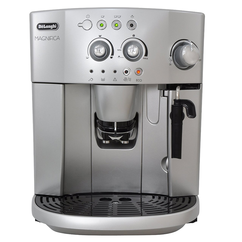 Image result for Delonghi Magnifica Bean to Cup espresso machine ESAM4200